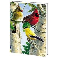 tree-free Greetings、ソフトカバージャーナルノートブック、160Linedページ、5.5X 7.5X 0.75インチ、Siberian Tiger ( jr88732)