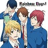 Rainbow Days!♪羽柴夏樹(松岡禎丞)・松永智也(江口拓也)・片倉恵一(島崎信長)・直江剛(内山昂輝)のCDジャケット