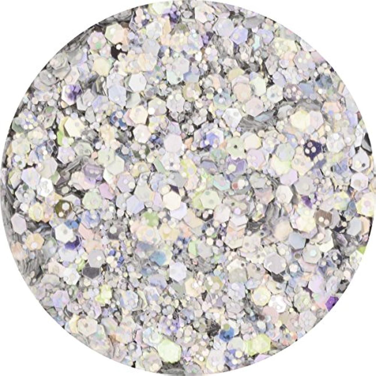 前売部屋を掃除する未接続ラメホロ ミックス [ラメ&ホログラム1mm]mix 選べる12色 (10.シルバー)