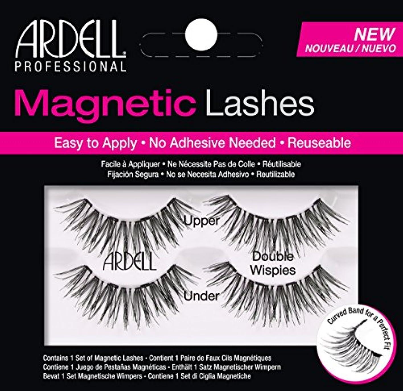 永遠の認可永久Ardell Magnetic Lashes Double Wispies