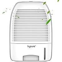 Hysure 除湿機 強力除湿 コンパクト 1500ml 部屋干し カビ防止 雑菌抑制 結露対策 静音作業 自動停止機能…