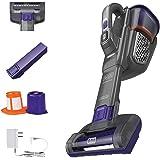 BLACK+DECKER Dustbuster Handheld Vacuum for Pets, Cordless, AdvancedClean+, Gray (HHVK515JP07)