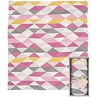 Weegoamigo Knitted Blanket- Geo Pink by Weegoamigo [並行輸入品]