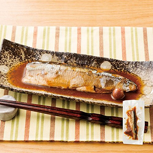 秋刀魚(骨とり)の梅煮 100g