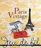 LTA 「PARIS VINTAGE - LTA」 刺しゅう図案集-フランス語