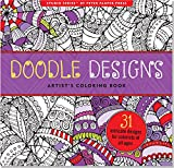 Doodle Designs Artist's Adult Coloring Book (Studio)
