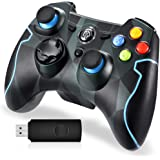 EasySMX Wireless 2.4g Game Controller Support PC (Windows XP/7/8/8.1/10) and PS3, Android, Vista, TV Box Portable Gaming Joys