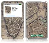 Music Skins iPod Classic用フィルム Mighty Healthy – Old Map iPod classic MSFSIPC00070