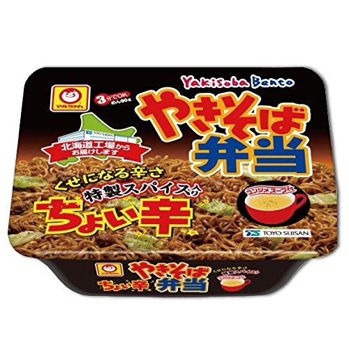 東洋水産 やきそば弁当 ちょい辛 119g × 24食(2ケース)