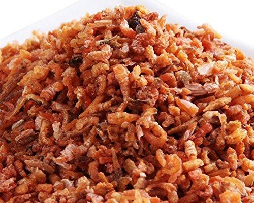 南シナ海からの乾燥魚介類小型のエビの肉1700 g