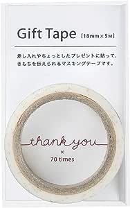 (まとめ買い) マルアイ ギフトテープ thank you GF-MT3 【×5】