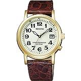 [シチズン] 腕時計 レグノ ソーラーテック 電波時計 クラシックストラップ KL3-021-30