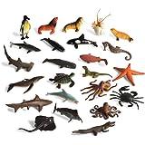 BOHS Assorted Sealife Creature Figures - Marine Ocean Sea Fish Animals Toys