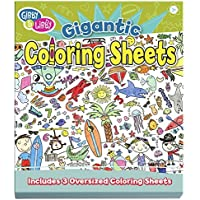 Gibby & Libby Let The Coloring Begin Gigantic Coloring Sheets by C.R. Gibson [並行輸入品]