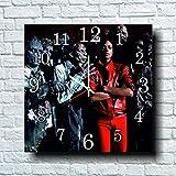 Michael Jackson 11.8'' 壁時計( マイケル・ジャクソン )あなたの友人のための最高の贈り物。あなたの家のためのオリジナルデザイン