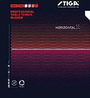STIGA(スティガ) 卓球 ラバー 粒高ラバー ホリゾンタル 55 レッド 特薄 1711550506