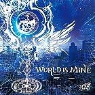 WORLD IS MINE【B:通常盤】(在庫あり。)