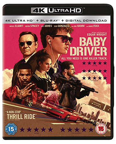 ベイビー・ドライバー [4K UHD & Blu-ray UHDのみ日本語有り Region Free](Import版)