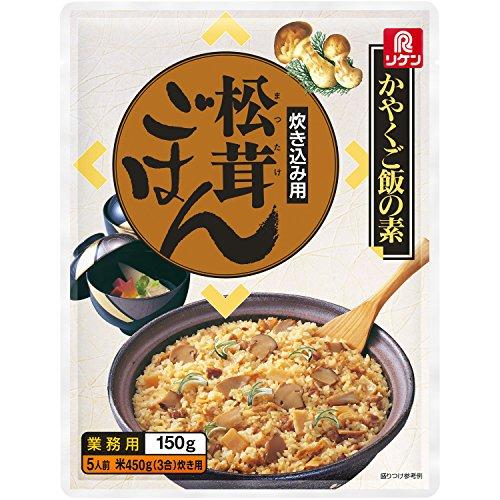 リケン かやくご飯の素 炊き込み用 松茸ごはん 150g...