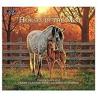 [2019 カレンダー アート]LANG ラング社 壁掛け/HORSE IN THE MIST Clayton Weirs