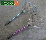 ロデオクラフト(Rodio Craft) トーナメント ラバーランディングネット ・ラベンダー/パープル
