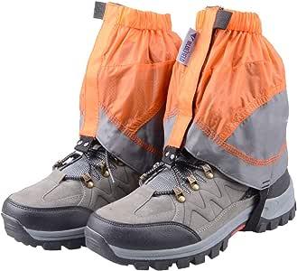 TRIWONDER ゲイター 防水 登山スパッツ ショット ゲーター レインスパッツ レッグカバー 雨 脚絆 泥除け トレッキング クライミング ハイキング 悪天候の日に 男女兼用
