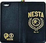 NESTA×collaborn iPhone 6s/6専用手帳型本革ケース NESTA_39- 黒 BR-LBI6-001 BR-LBI6-001