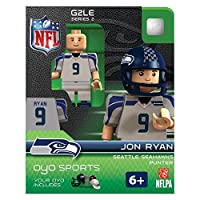 Jon Ryan NFL Seattle Seahawks Oyo G2S2 Minifigure