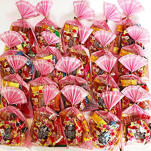 プチギフト お菓子の詰め合わせ 販促用お菓子 イベント フラワーリースのプチギフト20個入り