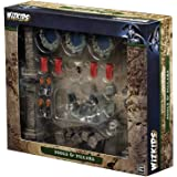 Wizkids Current Edition Wizkids Miniatures Fantasy Terrain Painted Pools and Pillars (Set 1) Board Game