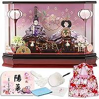 雛人形 ひな人形 ケース入り 親王飾り h283-sg-4-4rb