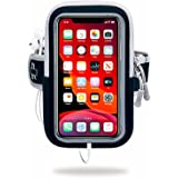 Universal Running Armband, Arm Cell Phone Holder Sports Armband for Running, Fitness and Gym Workouts, Compatible with iPhone
