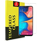 Junhou for [2 Pack] for Samsung Galaxy A20/A30/A50 Tempered Glass LCD Anti Scratch Screen Protector Film Guard (2 Pack)