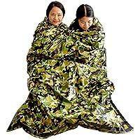 サバイバルシート 非常時用寝袋 繰り返し使用可 アウトドアや防災に 軽量 防寒 保温 防水 遮熱 コンパクト サバイバル ツール グッズ 1枚パック