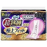 ソフィ 超熟睡極上フィットスリム 400 特に多い日の夜用 羽つき 40cm 8コ入(unicharm Sofy)