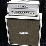 HIWATT / DR103 Hiwatt Custom 100 Head / Custom Order White