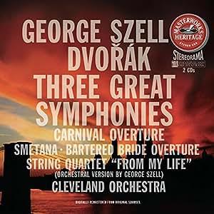 Dvorak: Symphony No.7, 8, 9 / Smetana: Quartet 'From My Life'