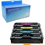 Teland Compatible Toner Cartridge Replacement for HP 201X 201A CF400X CF401X CF402X CF403X CF400A for Color Laserjet Pro MFP