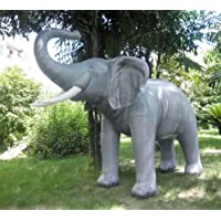 Jet Creations AL-ELE 119in.L x 84in.H Lifelike Inflatable Elephant