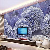 Gyqsouga カスタム壁紙3d木材風景エンボス背景壁装飾絵画ファッション家の装飾3d壁紙-160X120CM