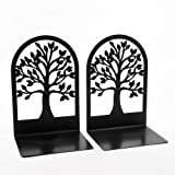 Creative Book Ends, Bookends, Book Ends for Shelves, Non Skid Metal Heavy Duty Bookend for Heavy Books, Book Divider Decorati