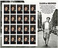 James Dean: Legends of Hollywood Full Sheet of 20 x 32-Cent Postage Stamps USA 1996 Scott 3082 [並行輸入品]