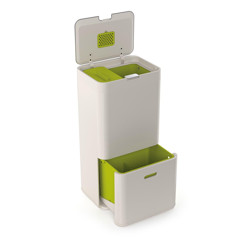 トーテム ゴミ箱 24L+36L ストーン