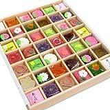 四季の 京菓子 ギフト 「花園(大) 42個入り」 和菓子 詰め合わせ 人気 お取り寄せ 和菓子 詰め合わせ 人気 お取…