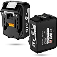 【Amazon限定ブランド】 マキタ 18v バッテリー BL1860B マキタ 互換 バッテリー 18v 6A.h L…