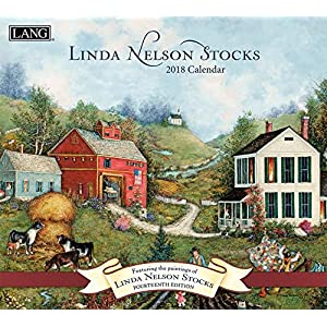 Linda Nelson Stocks 2018 Calendar: Includes Downloadable Wallpaper (Deluxe Wall)