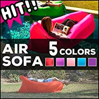 Airsofa エアソファー エアーマット アウトドア エアソファー ビーチ キャンプ フェス 登山 プール ベット