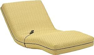 フランスベッド マットレスカバー シングル イエロー 電動リクライニングマットレスRPシリーズ用カバー ジオ 036024163