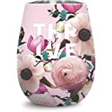 Studio Oh! 12 oz. Floral Expressions Insulated Stainless Steel Wine Tumbler Available in 4 Designs 12 oz. Thrive