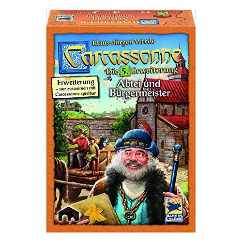 カルカソンヌ拡張セット5 修道院と市長 (2016年版) (Carcassonne: Erweiterung 5: Abtei & Burgermeister) (2016Edition) [並行輸入品] ボードゲーム